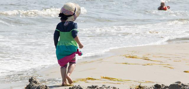 Strandurlaub an der dänischen Nordseeküste
