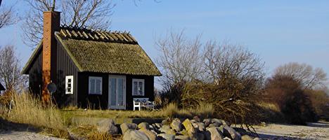 Ferienhausurlaub an der dänischen Küste