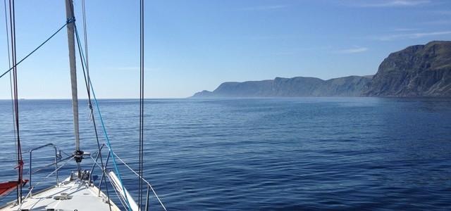 Segeln an der norwegischen Küste