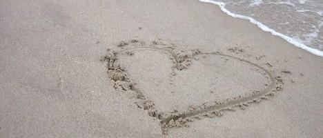 Heiraten bzw. Hochzeit am Strand der Nordsee