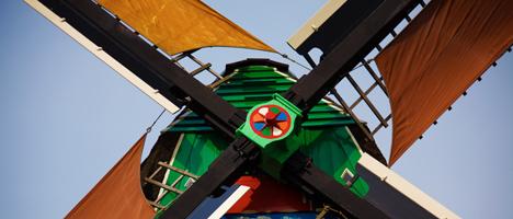 Windmühlen haben Holländer erfunden