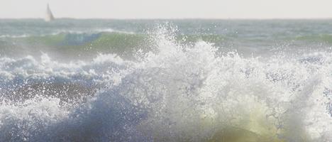 Nordsee Gezeiten und Wasser