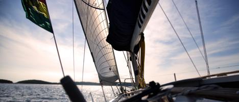 Segeln auf der Nordsee