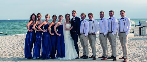 Hochzeit an der Nordsee und Ostsee