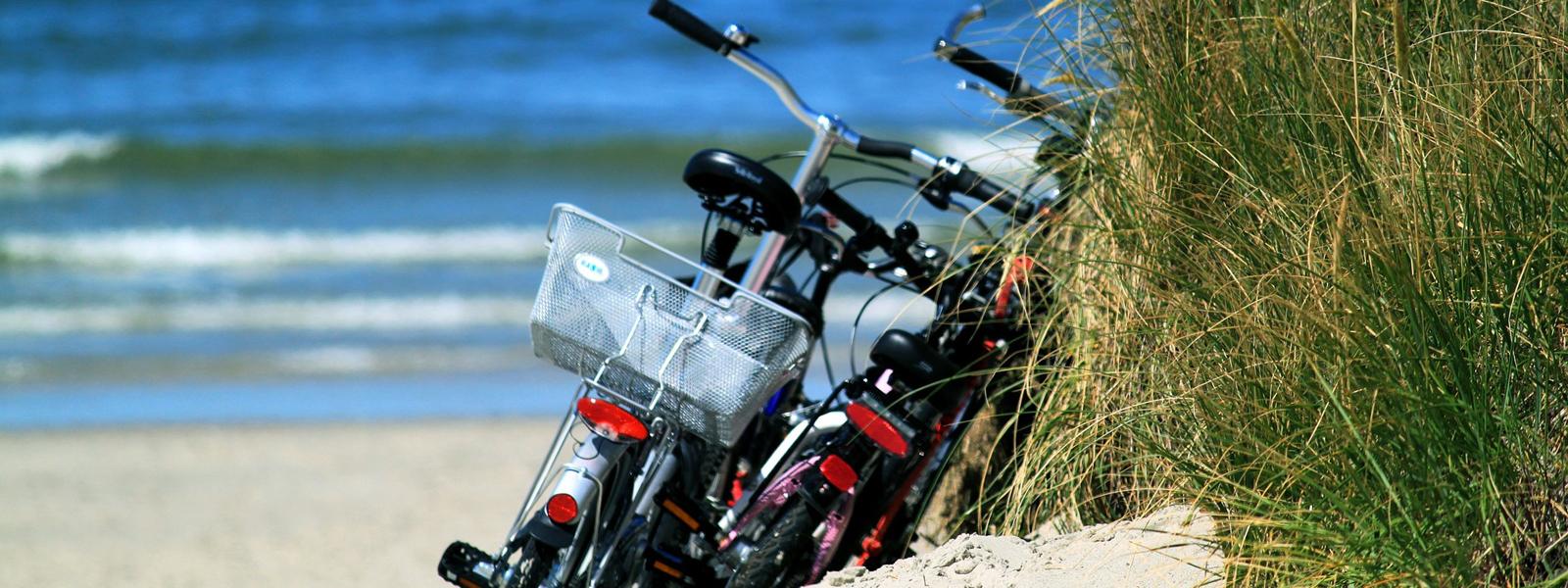 Fahrrad fahren an der Nordseeküste