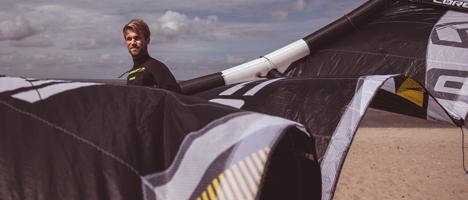 Kite-surfen lernen an der Nordsee