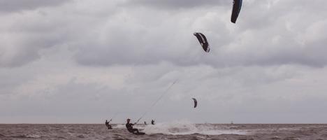 Kitesurfen lernen an der Nordsee