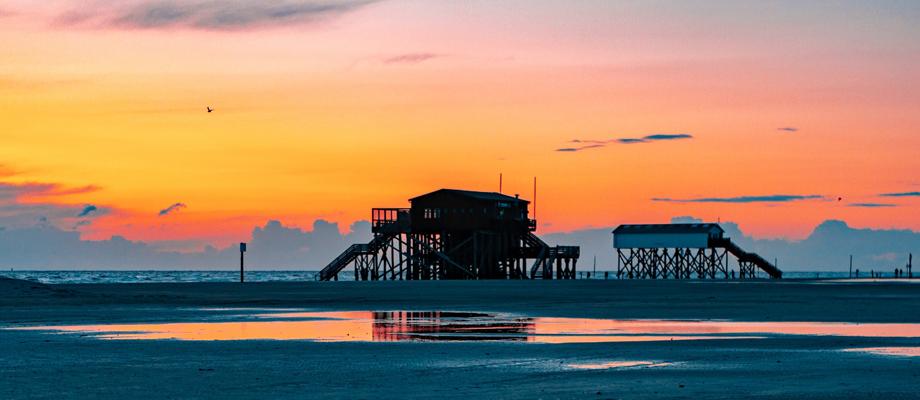 Sankt Peter Ording Strand Urlaub